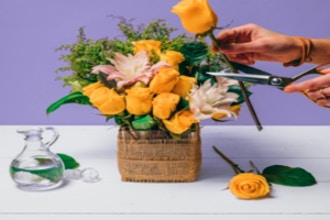 Flower Workshop: Make Flower Arrangements